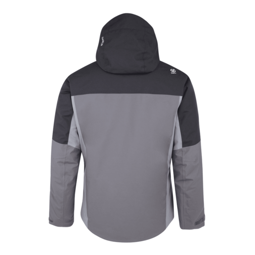 Dare 2b Men's Intermit Ski Jacket – Aluminium Grey / Cloudy Grey