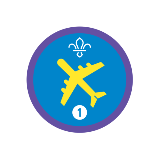 Air Activities Stage 1 Staged Activity Badge