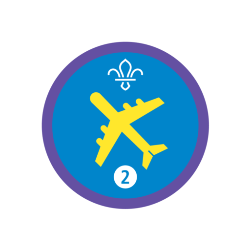 Air Activities Stage 2 Staged Activity Badge