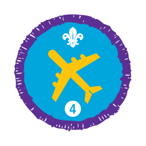 Air Activities Stage 4 Staged Activity Badge