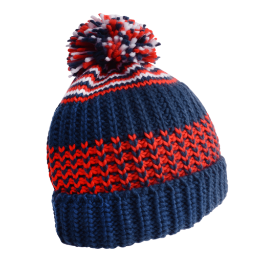 Dare 2b Men's Havoc Beanie – Admiral Blue / Fiery Red