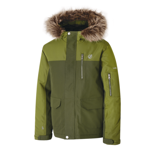 Dare 2b Kid's Furtive Ski Jacket – Mantis Green / Racing Green