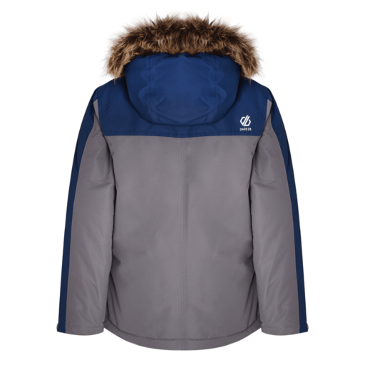 Dare 2b Kid's Furtive Ski Jacket – Aluminium Grey / Admiral Blue
