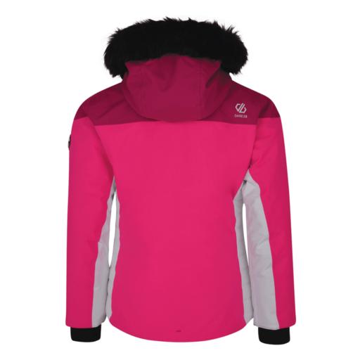 Dare 2b Kid's Vast Ski Jacket – Cyber Pink / Fuchsia Pink