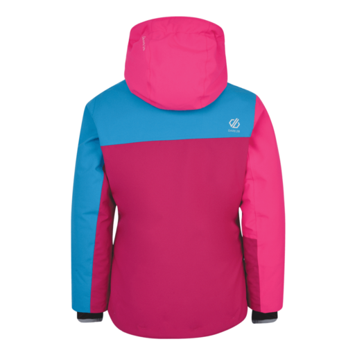 Dare 2b Kid's Chancer Ski Jacket – Fuchsia Pink / Cyber Pink / Atlantic Blue
