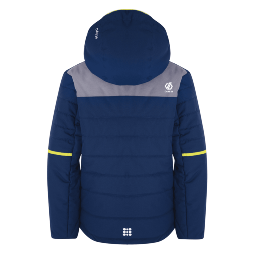 Dare 2b Kid's Initiator Ski Jacket – Admiral Blue / Aluminium Grey
