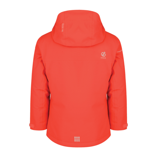 Dare 2b Kid's Entail Ski Jacket – Fiery Coral