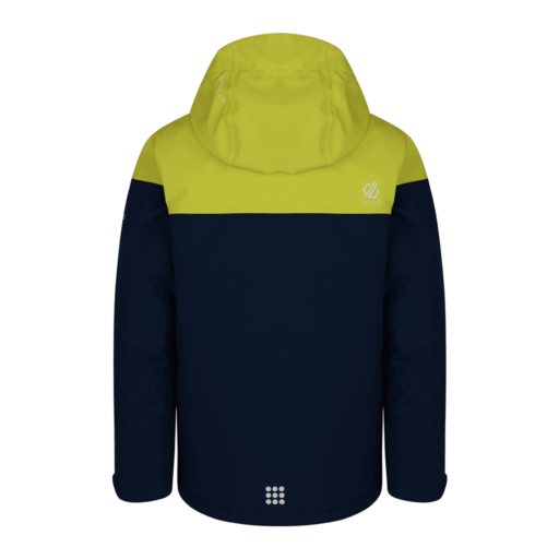 Dare 2b Kid's Entail Ski Jacket – Admiral Blue / Citron Lime