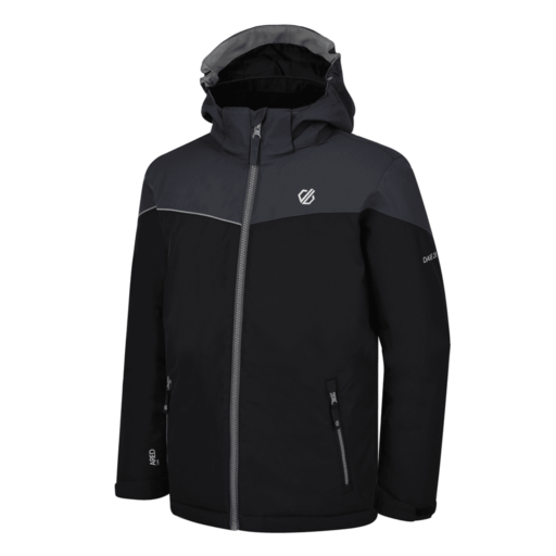 Dare 2b Kid's Oath Ski Jacket – Black / Ebony Grey