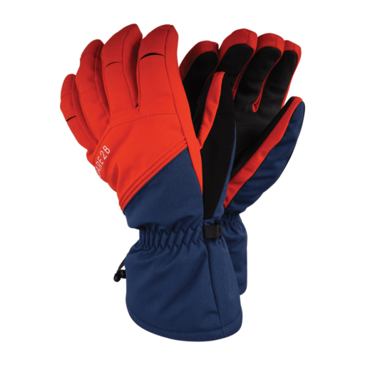 Dare 2b Men's Hold On Glove – Admiral Blue / Fiery Red