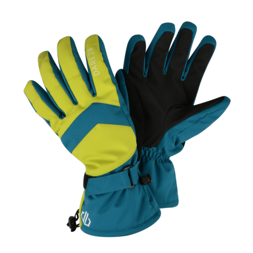 Dare 2b Men's Probity Glove – Ocean Depths / Citron Lime