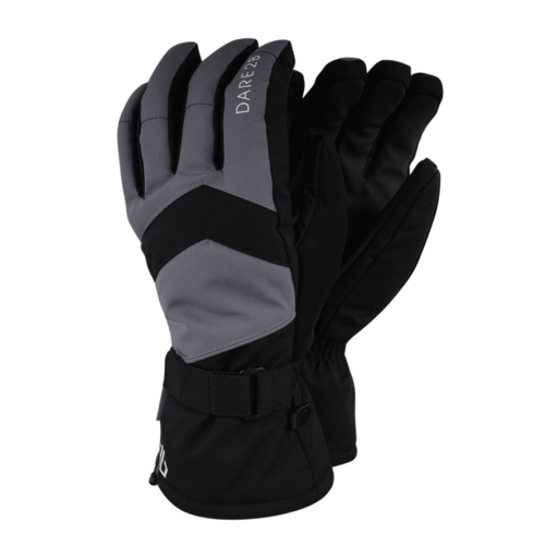 Dare 2b Men's Probity Glove – Black / Aluminium Grey