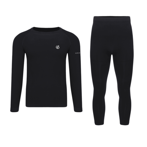 Dare 2b Men's In The Zone Base Layer Set – Black