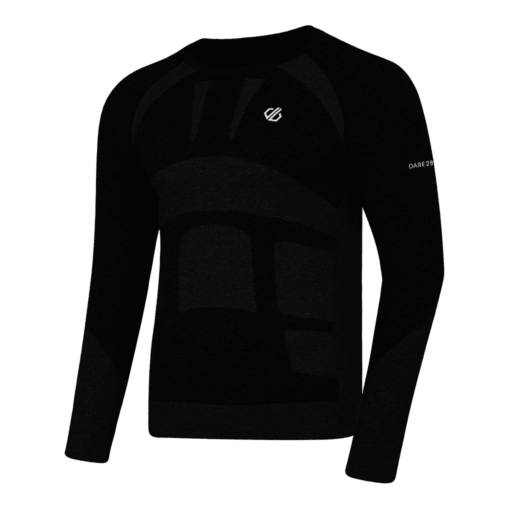 Dare 2b Men's In The Zone Base Layer Long Sleeve Tee  – Black