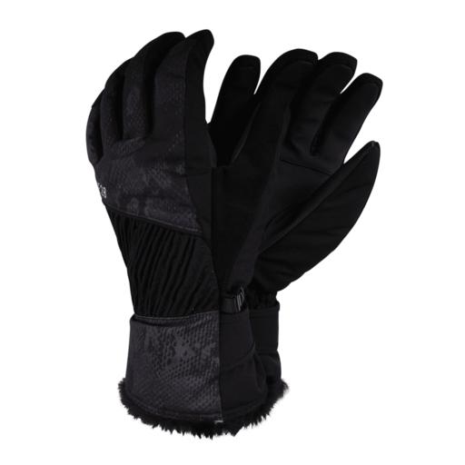 Dare 2b Women's Daring Glove – Black Snakeskin Print
