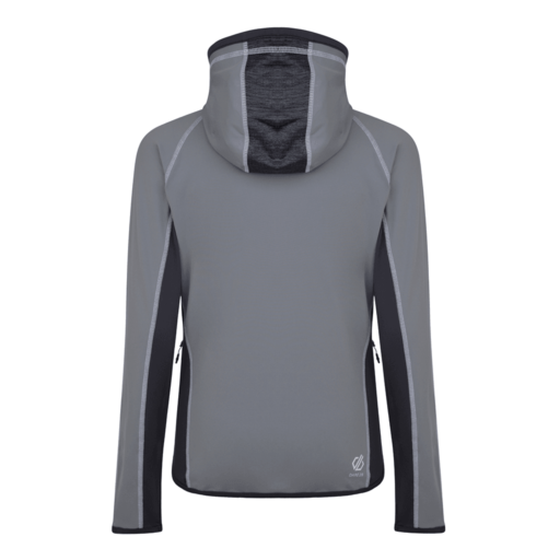 Dare 2b Women's Courteous Core Stretch Midlayer – Cloudy Grey / Charcoal Grey Marl / Ebony Grey
