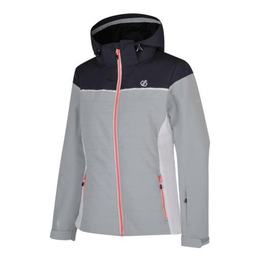 Dare 2b Women's Slightly Ski Jacket – Argent Grey / Ebony Grey