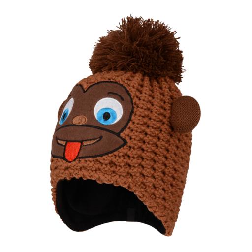 Dare 2b Kid's Brainstorm Beanie – Pecan Brown (Monkey)