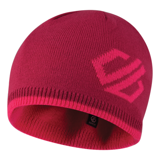 Dare 2b Kid's Frequent Beanie – Fuchsia Pink / Cyber Pink