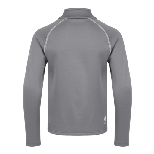 Dare 2b Kid's Consist Core Stretch Midlayer – Aluminium Grey