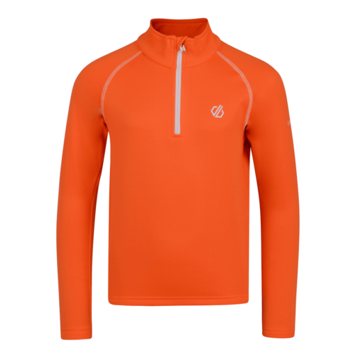 Dare 2b Kid's Consist Core Stretch Midlayer – Vibrant Orange