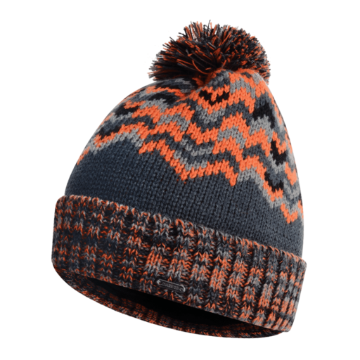 Dare 2b Men's Headstrong Beanie – Ebony Grey / Clementine Orange