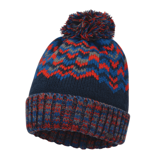 Dare 2b Men's Headstrong Beanie  – Admiral Blue / Fiery Red
