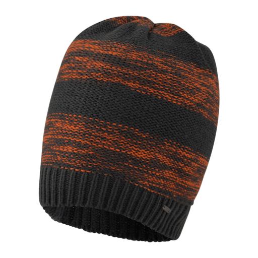 Dare 2b Men's Thesis Beanie – Ebony Grey / Clementine Orange