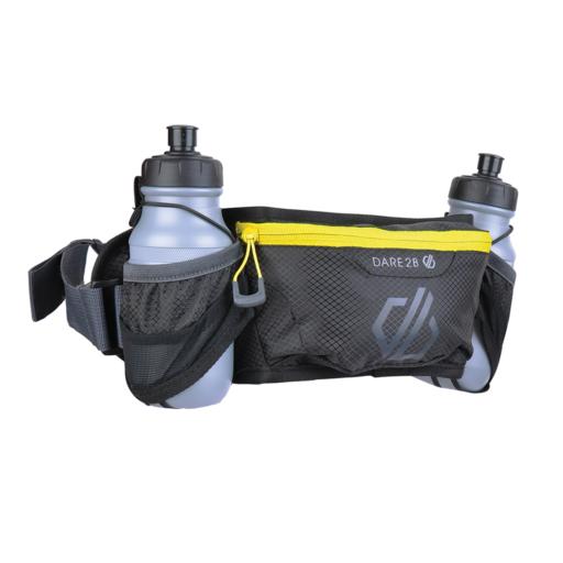 Dare 2b Vite II Double Waist Belt – Black / Fluro Yellow