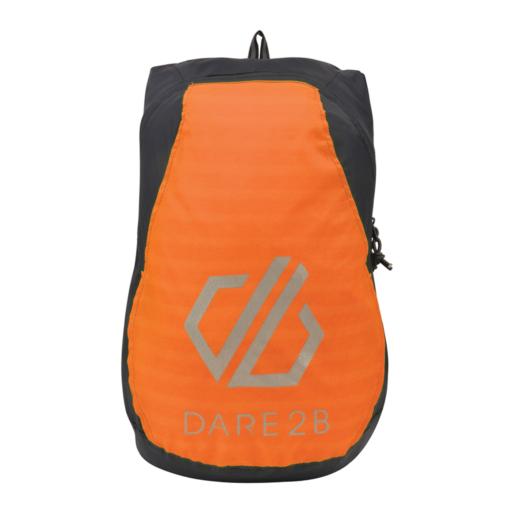 Dare 2b Silicone II Rucksack – Ebony / Shocking Orange