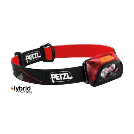 Petzl Actik Core 450 Lumen – Red