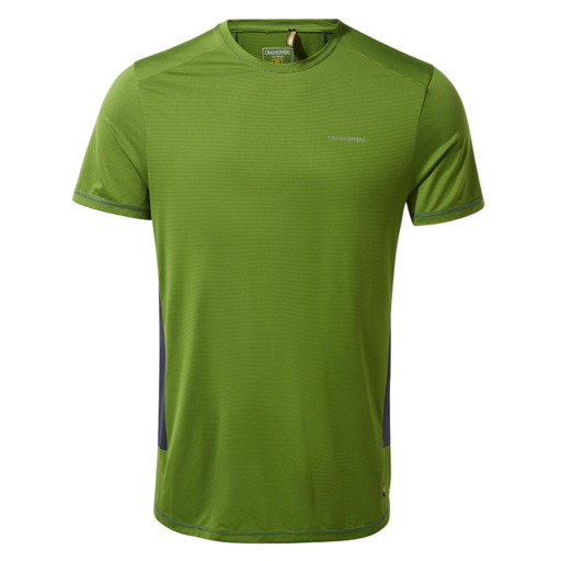 Craghoppers Men's Atmos Short Sleeved T-Shirt – Agave Green