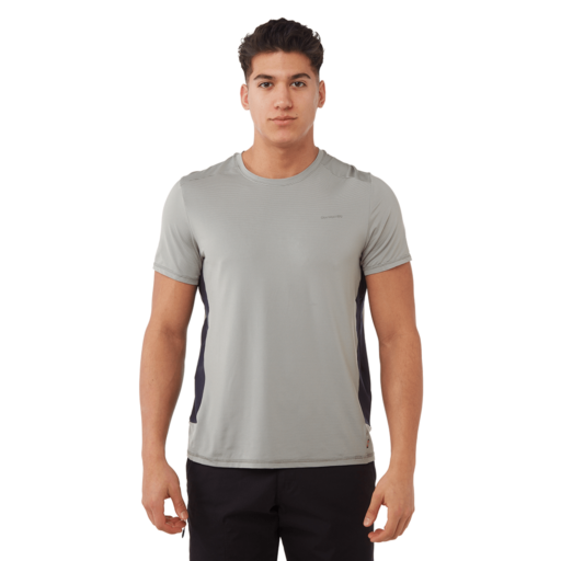 Craghoppers Men's Atmos Short Sleeved T-Shirt – Cloud Grey