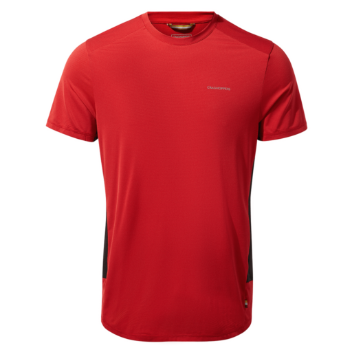 Craghoppers Men's Atmos Short Sleeved T-Shirt – Sriracha