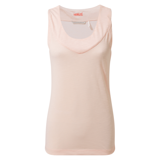 Craghoppers Women's NosiLife Allesa Vest Top – Seashell Pink