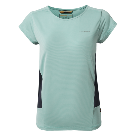 Craghoppers Women's Atmos Short Sleeved T-Shirt – Sea Breeze