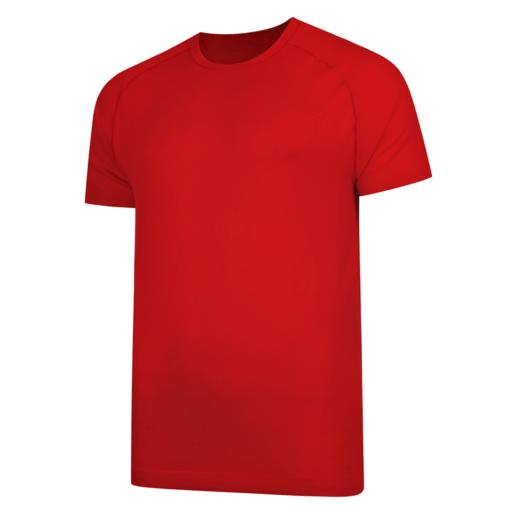 Dare 2b Men's Vessel Seamless T-Shirt – Fiery Red