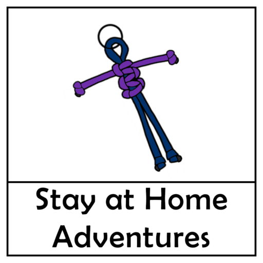 Project X Stay at Home Adventure – Keyring Person Paracord Craft Kit