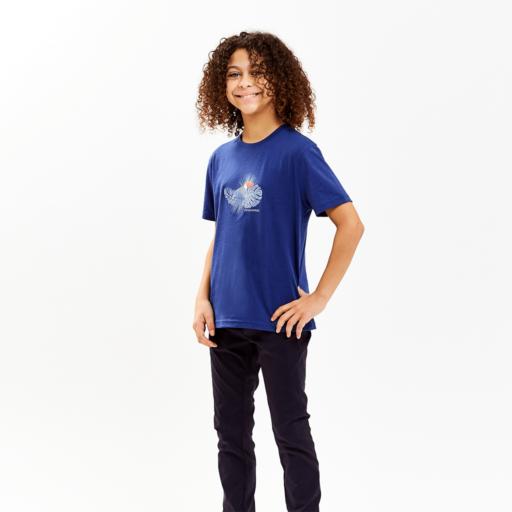Craghoppers Kid's Olga Short Sleeved T-Shirt – Lapis Blue