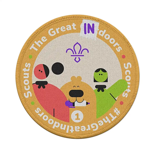 Great Indoors Stage 1 Staged Activity Badge
