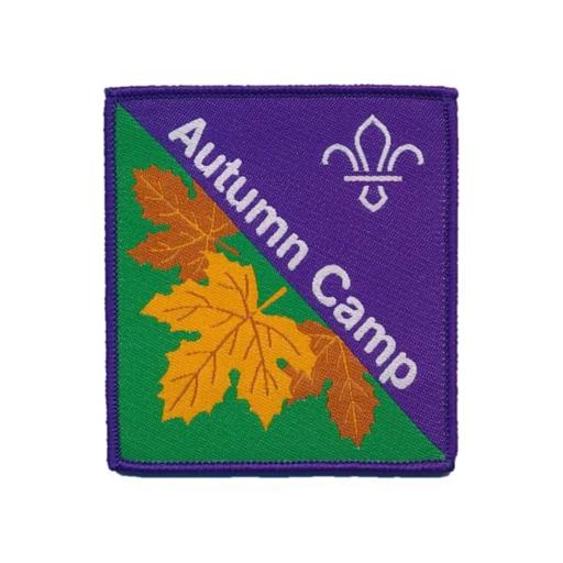 Autumn Camp Fun Badge