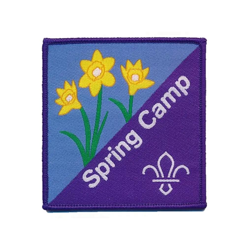 scout spring camp fun badge