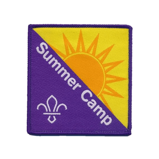 Summer Camp Fun Badge