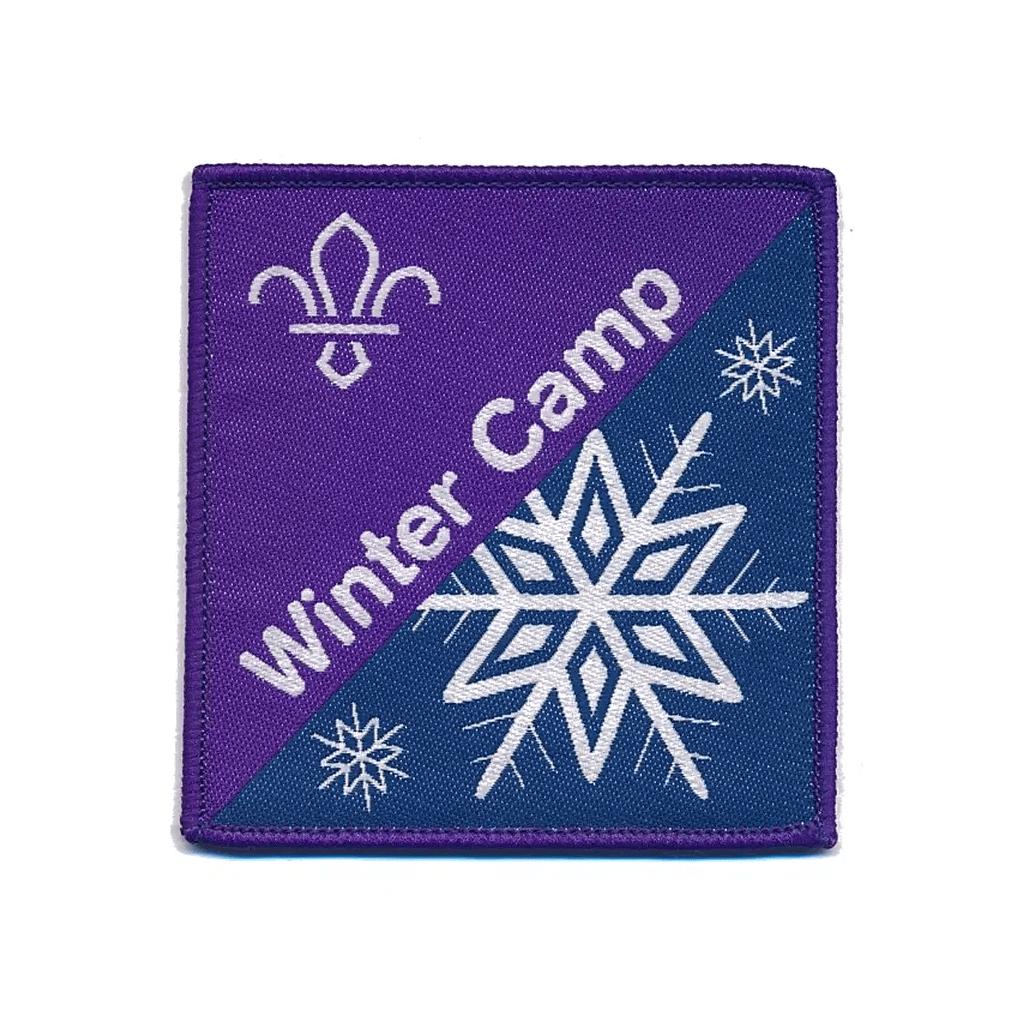 scout winter camp fun badge