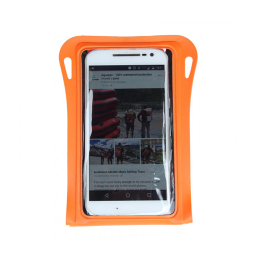 Aquapac Trailproof Phone Case – Safety Orange