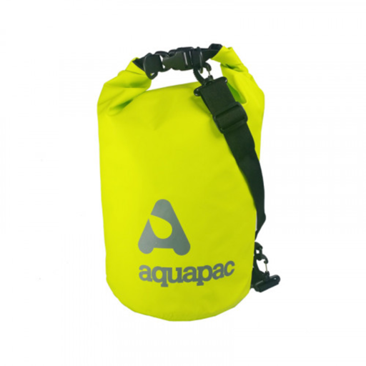 Aquapac Trailproof Drybag with Shoulder Strap – 15 L – Green