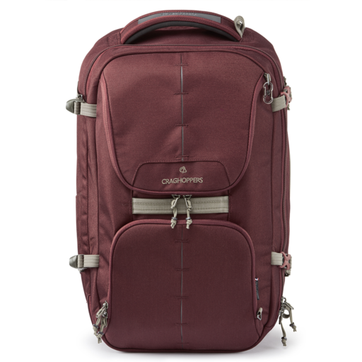 Craghoppers 40L Hybrid Holdall – Brick Red