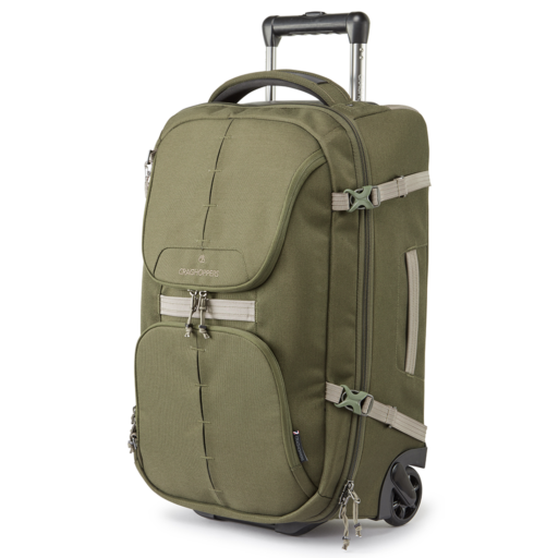 Craghoppers Wheelie 40L – Woodland Green