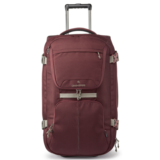 Craghoppers Wheelie 70L – Brick Red