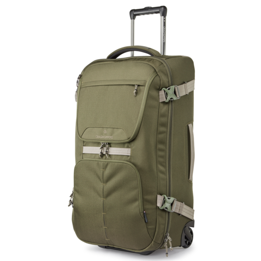 Craghoppers Wheelie 70L – Woodland Green